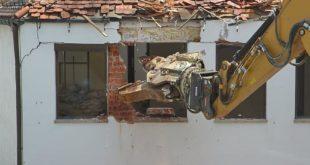 démolition d'immeuble