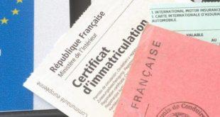 Qu'est ce qu'un certificat d'immatriculation