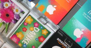 Les cartes cadeaux et les réglementations