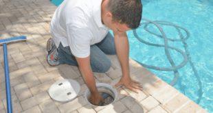 nettoyage de la piscine