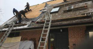 Nettoyage et traitement de la toiture