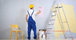 Travaux de peinture de maison