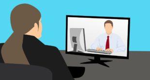 moniteur pour la vidéoconférence